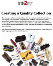 Shoe Collection Guideline