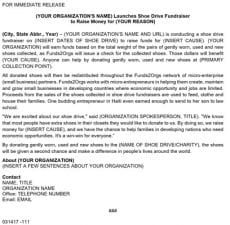 Press Release (Word Document)