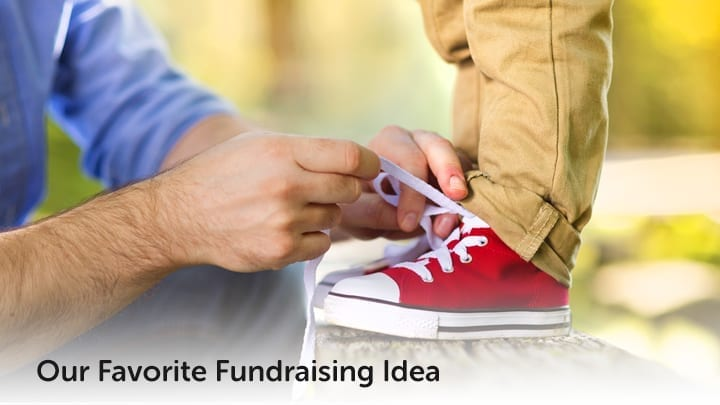 Our favorite fundraising idea for community organizations is a shoe drive fundraiser.
