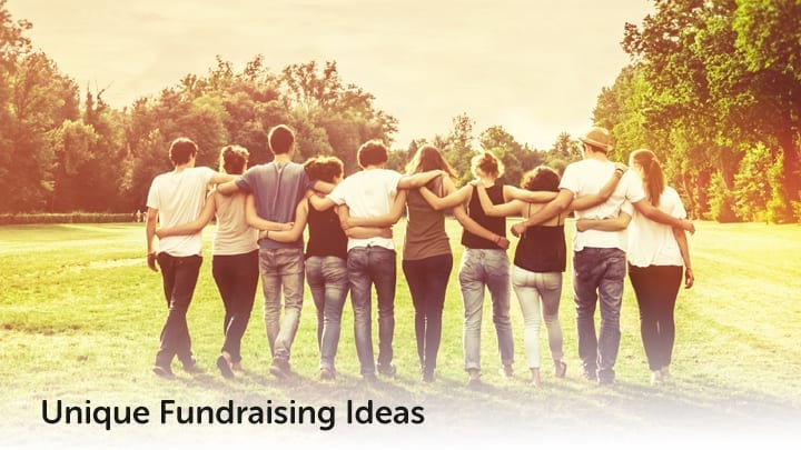 Check out these great unique fundraising ideas.]
