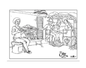 Haiti Coloring Sheets